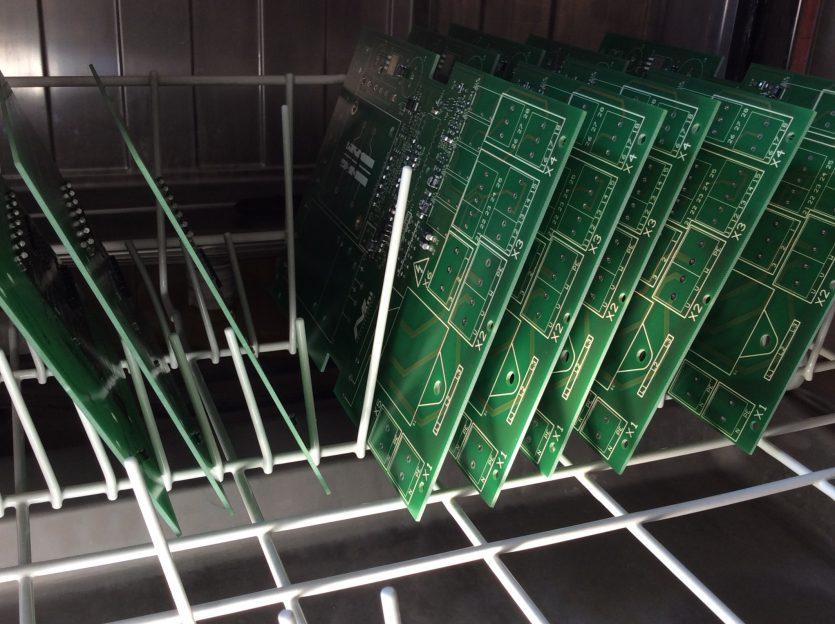 Leiterplattenbestückung Waschen